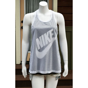 Nike Prep Mesh Racerback Workout Tank Medium